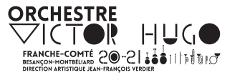 logo de l'orchestre Victor Hugo