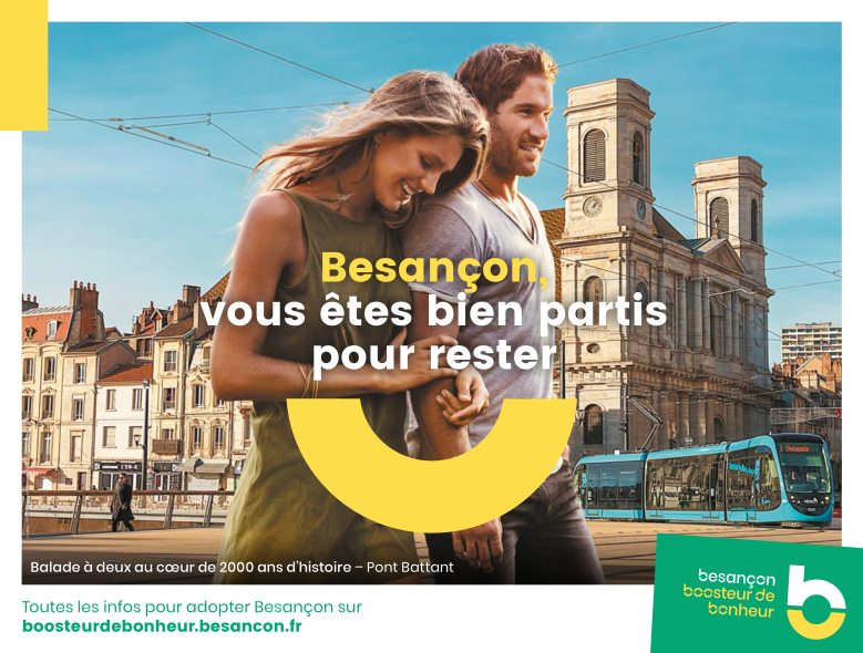 s'installer à Besançon
